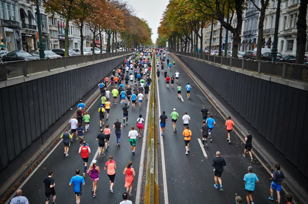 Volksläufe bieten gute Trainingsimpulse und Trainingsziele