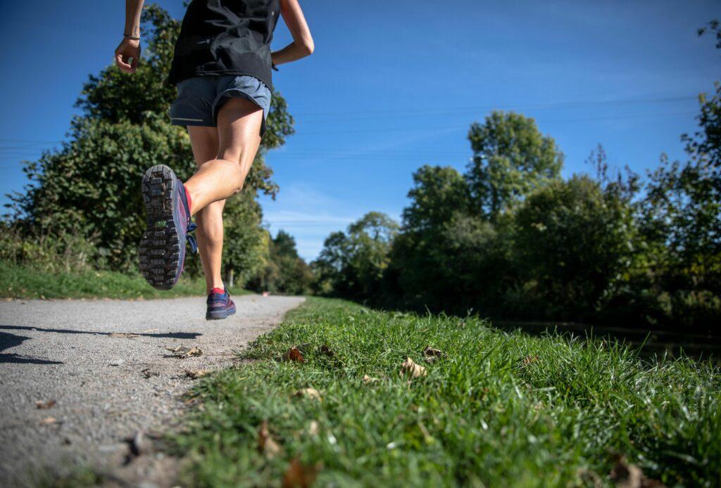 Laufen bietet viele Vorteile.