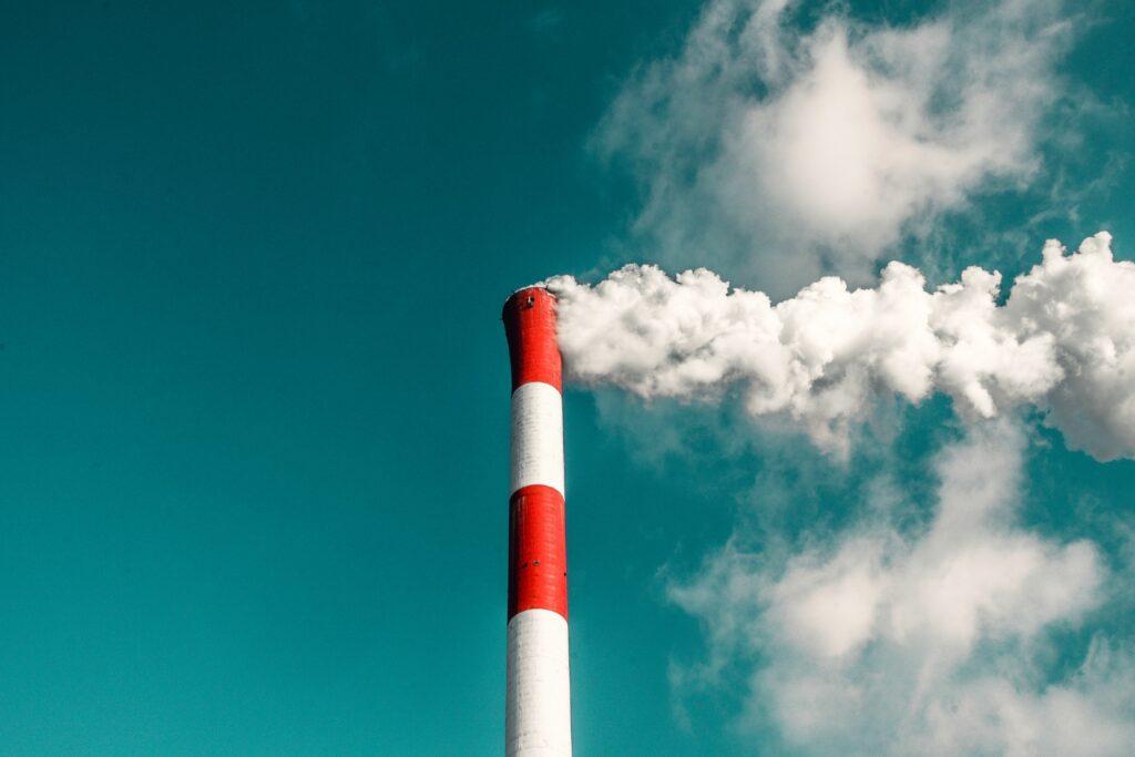 Die Produktion von Fleisch trägt erheblich zur Treibhausgas-Emission bei.