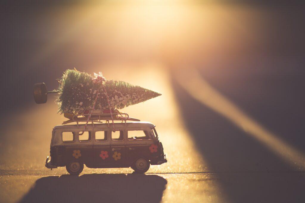 Die Reiserei an Weihnachten nachhaltiger gestalten