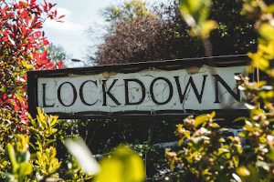 a lockdown sign
